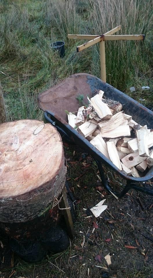 wood chopp