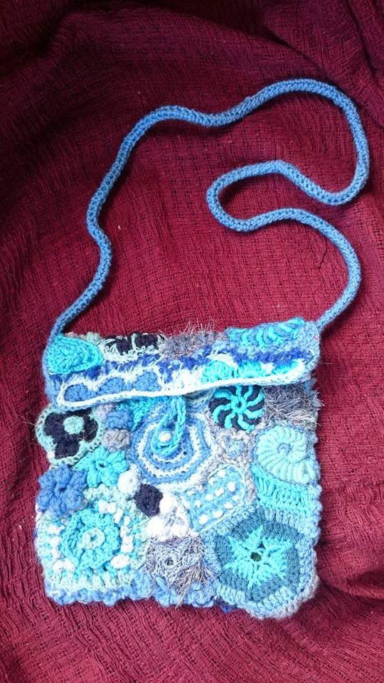 blue bag front